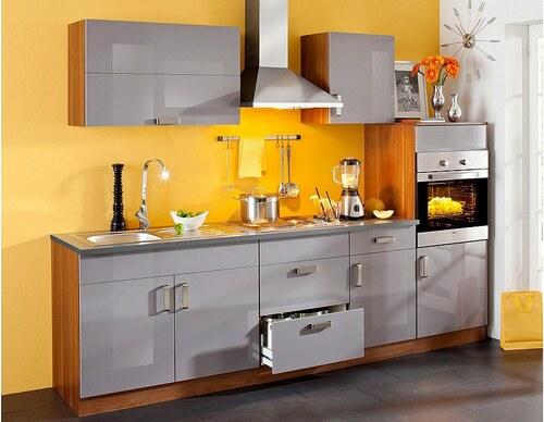 Küchenzeile »Reno«, 270 cm breit, mit Edelstahl-Kochmulde