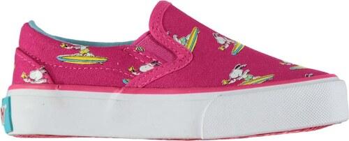 9f2c31fbcef4f6 Beppi Snoopy Infants Canvas Shoes Fuchsia - Glami.cz