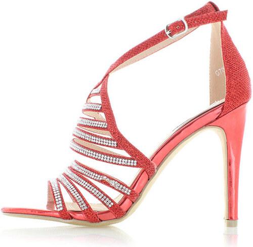 4980dbcc49 Belle Women Červené sandále Felice - Glami.sk