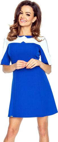 Bergamo Modré šaty Cornelia - Glami.cz e4ff65c970