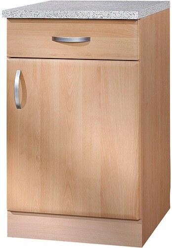 Küchenunterschrank »Prag«, B/T/H: 50/60/85 cm
