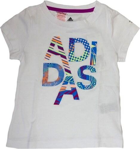adidas Performance YG W ADI TEE Detské tričko F79810 - Glami.sk f841fca8f11