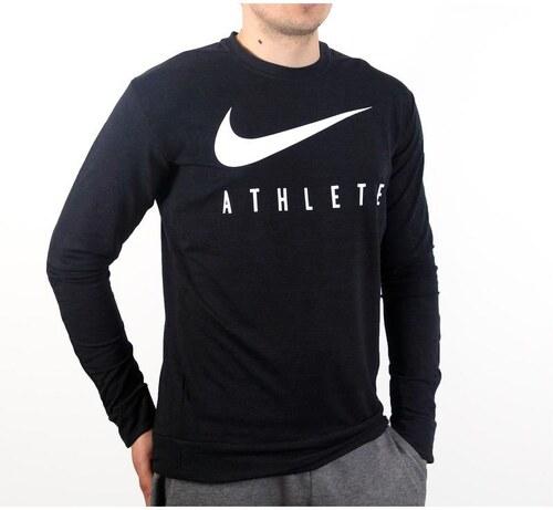 Nike DRI-FIT TRAINING CREW GFX pánská mikina 807747-010 - Glami.cz b956f4fe5fe