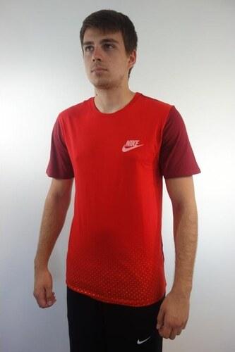 Nike Tee Av15 Colorblock Pánské tričko 804987-657 - Glami.cz 88effe2025
