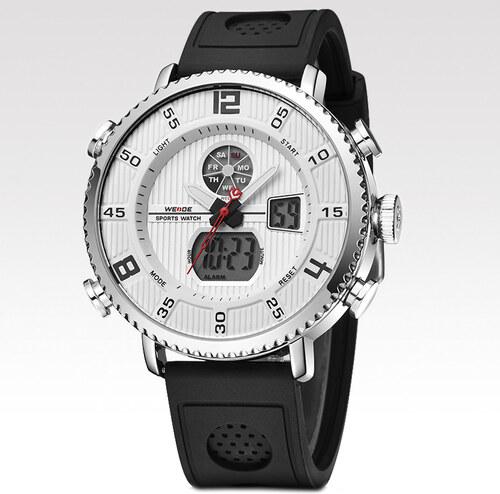 28c8af11e76 Weide Pánské hodinky Ring bílé - Glami.cz