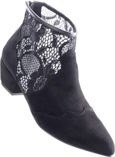 BODYFLIRT Bonprix - Bottines noir pour femme - Glami.fr f88d8fd63709