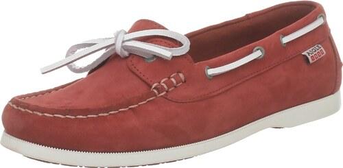 Aigle Americasual W, Chaussures bateau femmeRouge (Paprika Nb), 35 EU