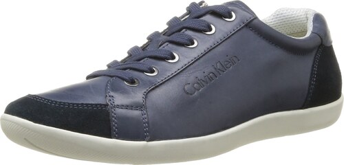Calvin Klein Paco, Baskets mode homme - Bleu (Mnt), 41 EU