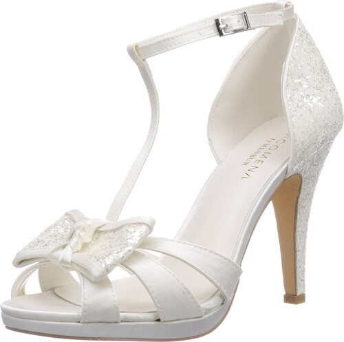 Paco Mena Menbur Wedding Fauno, Damen Plateau Sandalen 5981, Elfenbein  (Ivory 04), 41 EU 5a8dd241d7