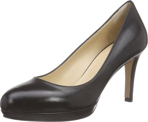 Pump, Escarpins Bout Fermé Femme, Noir (Schwarz 10), 39 EUEvita Shoes