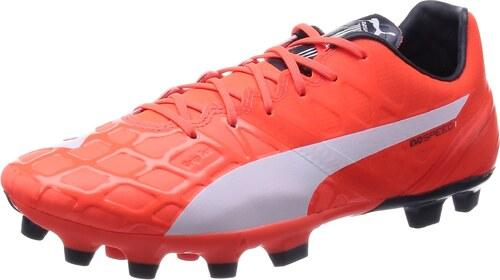 Puma 103265, Chaussures de Football Homme - Orange - Orange (Lava Blast- White-Total Eclipse 01), 41 EU