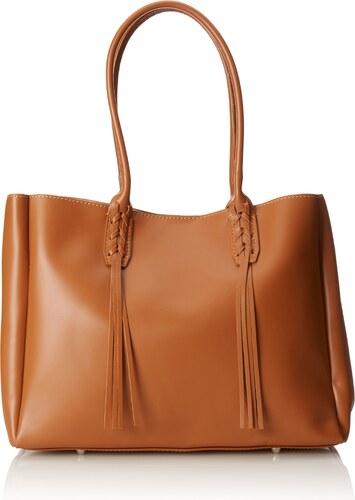 11b29249fa672 Chicca Borse Damen handtaschen Orange (Cuoio) 39 cm - Glami.de
