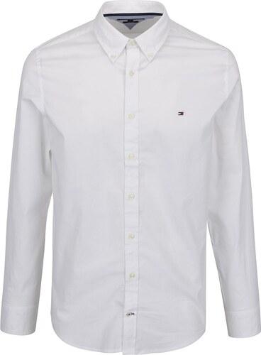 8230387f8e8 Bílá pánská formální slim fit košile Tommy Hilfiger - Glami.cz