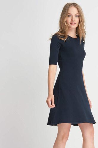 938233990f71 Orsay Jednobarevné úpletové šaty - Glami.cz