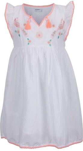 4d21be040a69 Krémové dievčenské šaty s výšivkami 5.10.15. - Glami.sk
