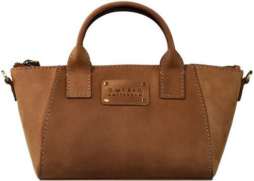 Hnědá kožená kabelka O My Bag Fly Violet Nano - Glami.cz 15666510583
