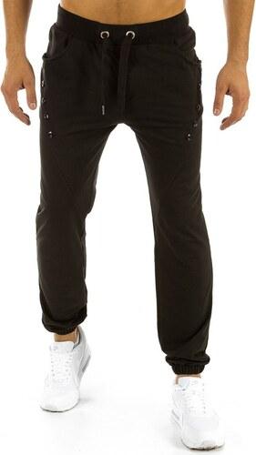 dstreet Pánské kalhoty černé plandavé tepláky (ux0814) - Glami.cz 649c84ee8f