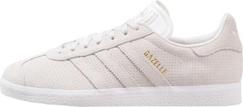 adidas originals gazelle - baskets basses - ash/white/gold metallic
