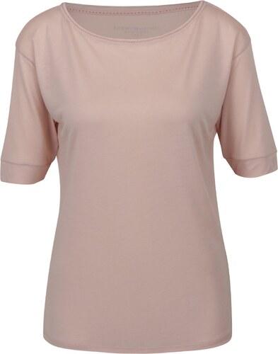 9fdec95906c9 Světle růžové dámské tričko Tommy Hilfiger - Glami.cz
