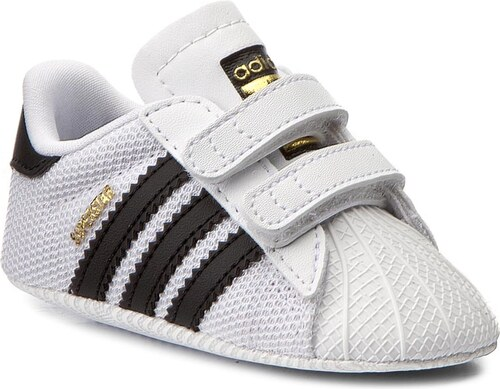Topánky adidas - Superstar Crib S79916 Ftwwht Cblack Ftwwht - Glami.sk c9f11f8adc9