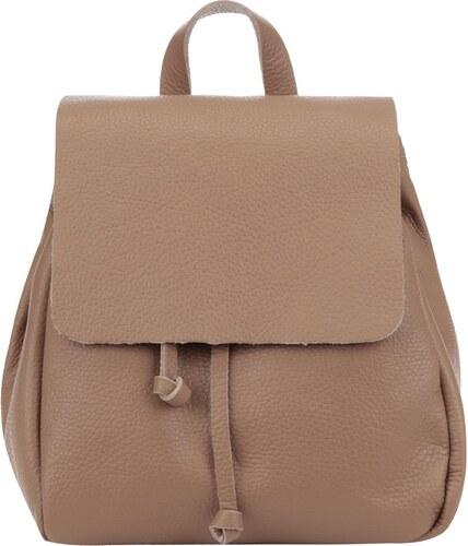 79df49489d8 Hnědý dámský kožený batoh ZOOT Simple - Glami.cz