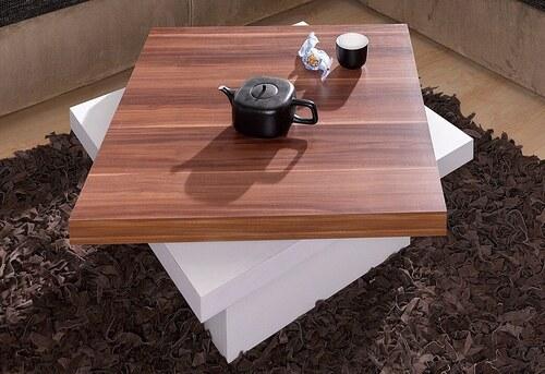 Couchtisch mit drehbarer Tischplatte