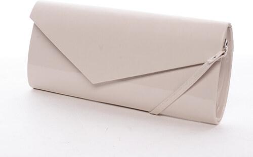 6505ea4f57 Štýlová dámska listová kabelka béžová - Delami Charlotte béžová ...