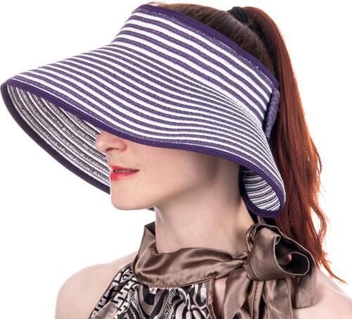 Fashion Icon Dámské slaměné stínítko - Slamák   slaměný klobouk ... f11b55c531