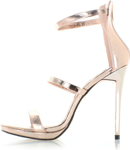 722d63506a6c Vices Ružovo-zlaté sandále Esther - Glami.sk