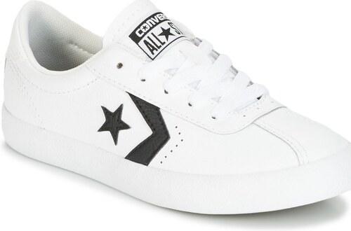 Converse Rövid szárú edzőcipők BREAKPOINT FOUNDATIONAL LEATHER BP OX  WHITE BLACK WHITE Converse c1579f126f