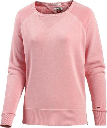 tommy hilfiger sweatshirt damen in rosa. Black Bedroom Furniture Sets. Home Design Ideas