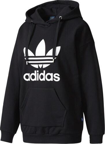 ace46eb899a adidas Trefoil Hoodie černá 28 - Glami.cz