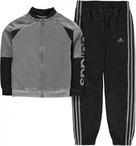 Tepláky Adidas - Linear Logo Tracksuit Junior Boys - Glami.sk 36d918aaa3e