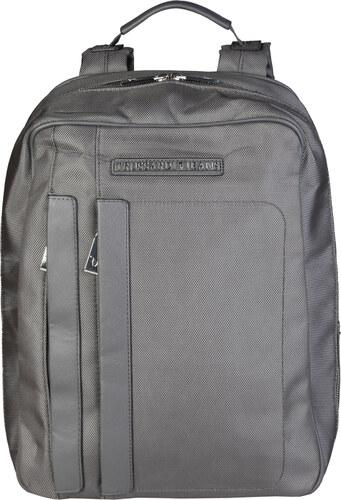 0c0dd62a5c6af Pánský batoh Trussardi s nastavitelnými popruhy - šedý Barva  šedá ...