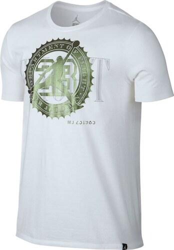 Pánske tričko Air Jordan Pure Money Bank Note Tee White - Glami.sk a4f8132b12