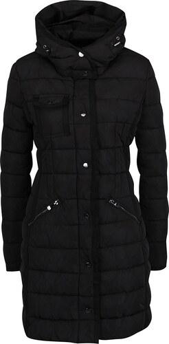 Černý prošívaný kabát Desigual Pisa - Glami.cz 9e3ded6c91a