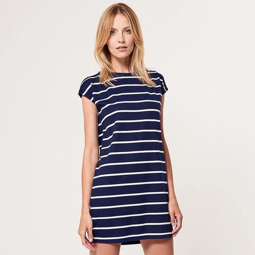 Mohito - Jednoduché úpletové šaty - Biela - Glami.sk 8cdbb363020
