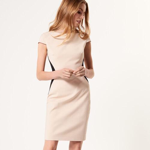 cc4442079d3e Mohito - Elegantné puzdrové šaty - Béžová - Glami.sk