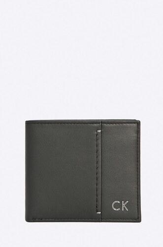 Calvin Klein Jeans - Kožená peňaženka Newton Slimfold - Glami.sk 0624dc7783c