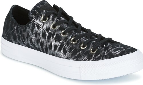 f8ed67a887e -21% Converse Tenisky CHUCK TAYLOR ALL STAR SHIMMER SUEDE OX  BLACK BLACK WHITE Converse