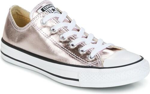 Converse Rövid szárú edzőcipők CHUCK TAYLOR ALL STAR METALLIC CANVAS OX  ROSE QUARTZ WHITE  5073f930f7