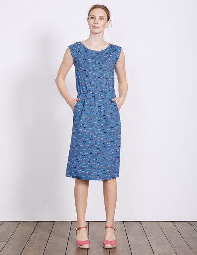Blackberry kleid blue damen boden for Gutschein bodendirect