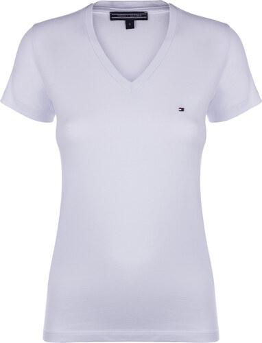 a2a5ec8e58 Bílé custom fit tričko TOMMY HILFIGER - Glami.cz