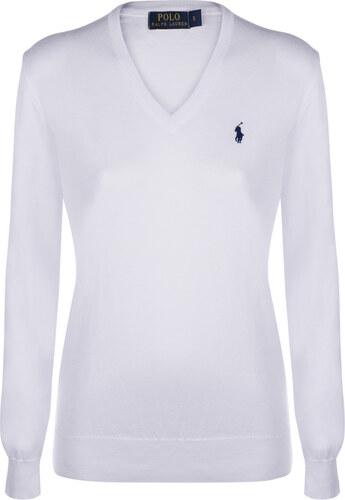 Bielo-čierny prémiový sveter od Ralph Lauren - Glami.sk 53a04afbaba