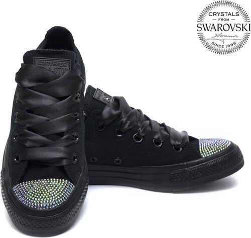 Converse Swarovski Low Black - Glami.sk bc779019aaa