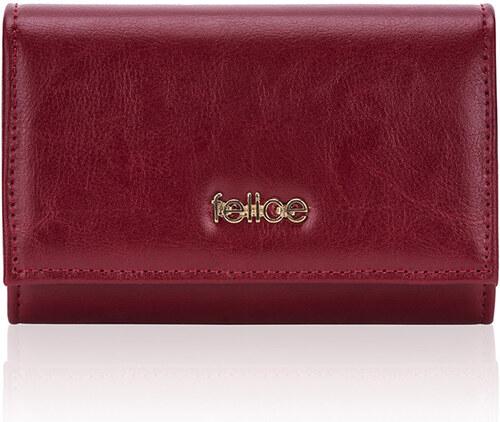 71dd4b1390 Červená peněženka Felice P06 RED odtiene farieb  červená - Glami.sk