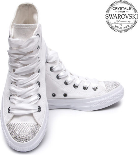 d54abbe7ef Converse Swarovski White I High - Glami.sk