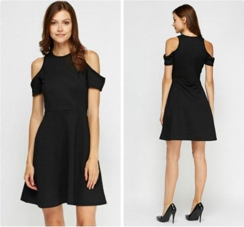 2014236c0e6b BELLA MODA London Dámské černé elegantní šaty - Glami.cz