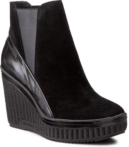 Magasított cipő CALVIN KLEIN JEANS - Sasha R0577 Black Black - Glami.hu aa3cd80409