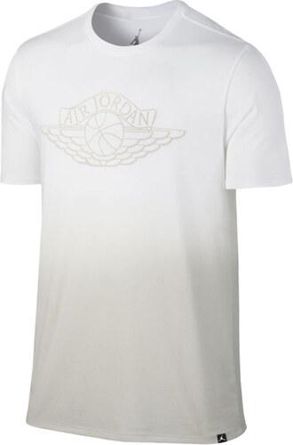 Pánske tričko Air Jordan Fadeaway Faded T-Shirt White Light Bone ... 013d0bb6bd